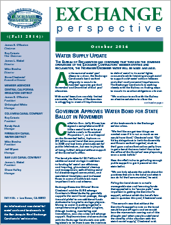 SJRECWA 2014 Fall Newsletter