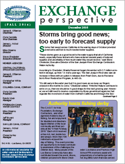 SJRECWA 2016 Fall Newsletter