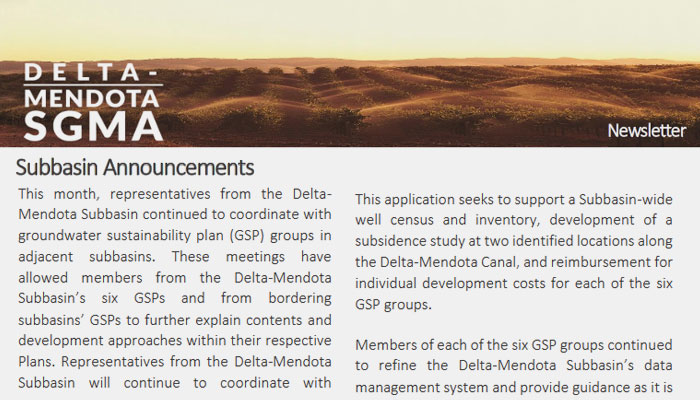 SGMA Newsletters