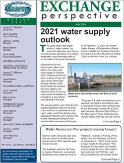 SJRECWA 2021 Spring Newsletter